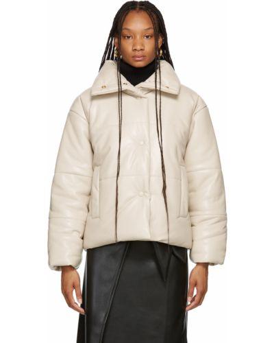 Белая куртка с карманами Nanushka