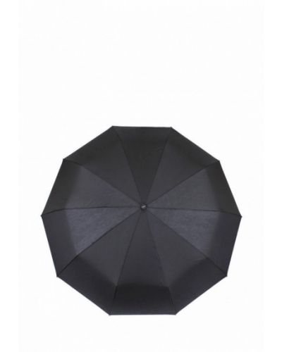 Черный складной зонт De Esse