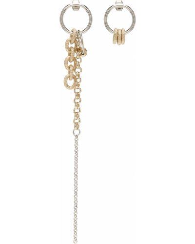 Kolczyki sztyfty srebrne Justine Clenquet