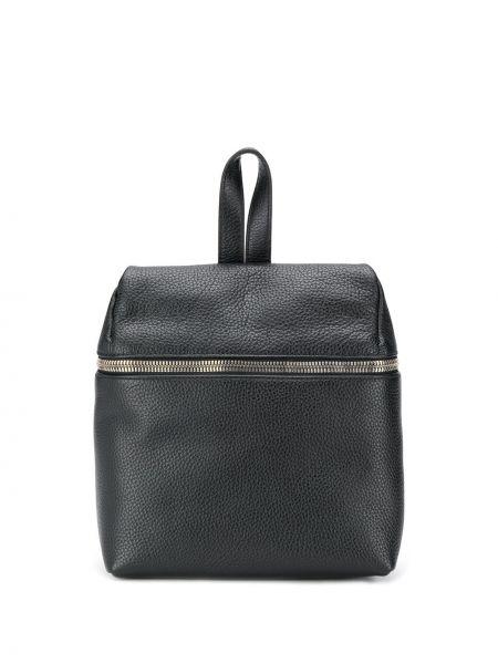 Skórzany plecak czarny mało Kara
