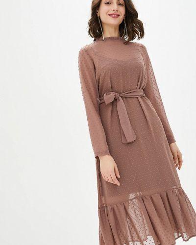 Бежевое вечернее платье Lilove