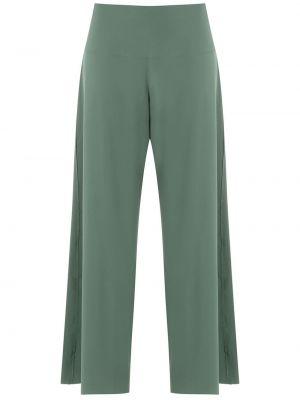 Широкие брюки - зеленые Osklen
