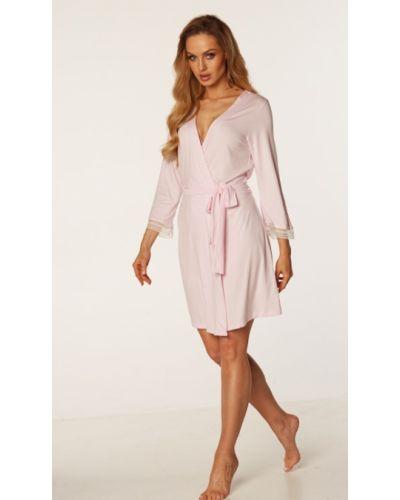 Розовый халат Rossli