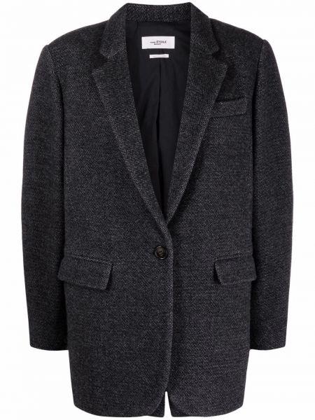 Серое пальто на пуговицах Isabel Marant étoile