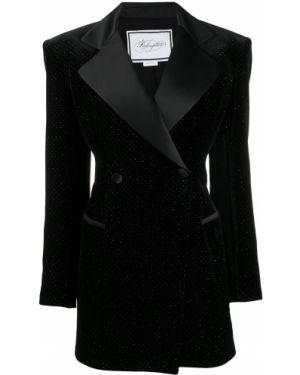 Черная куртка с манжетами на пуговицах с подкладкой Redemption