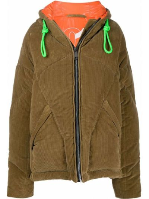 Пальто оверсайз - коричневое Khrisjoy