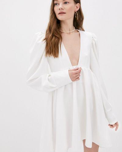 Белое вечернее платье Lipinskaya Brand