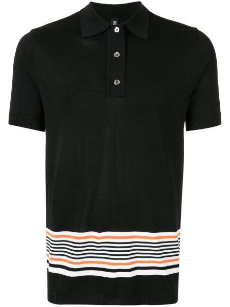 Классическая черная классическая рубашка на пуговицах из вискозы Astrid Andersen