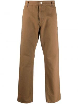 Прямые брюки - коричневые Carhartt Wip