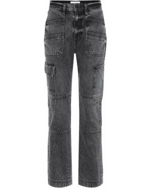 Ватные хлопковые черные джинсы Slvrlake