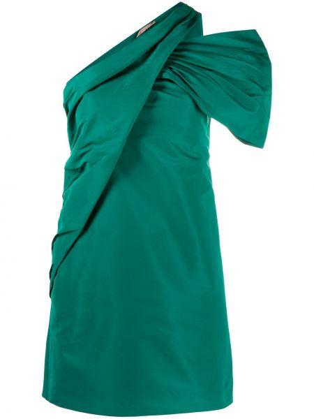 Открытое зеленое платье мини N°21