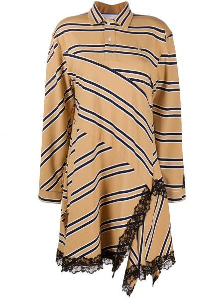 Свободное кружевное платье макси свободного кроя Koché