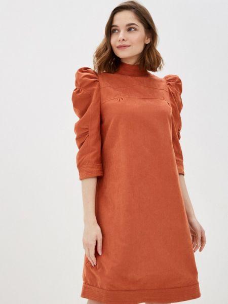 Коралловое платье Cavo