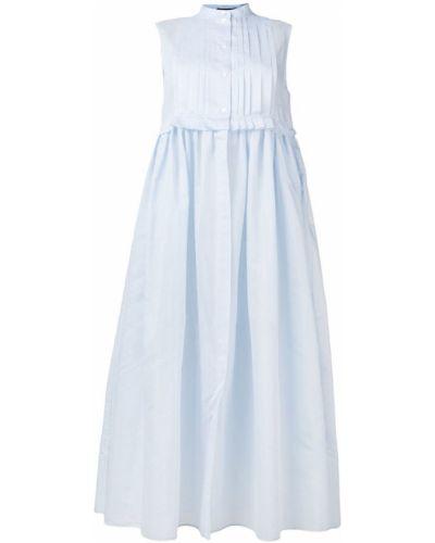 Платье на пуговицах платье-рубашка Jil Sander Navy