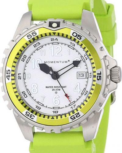Кварцевые часы водонепроницаемые с подсветкой спортивные Momentum
