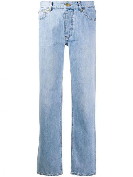 Прямые джинсы синие с карманами Victoria, Victoria Beckham