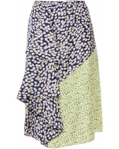 Шелковая юбка Lanvin