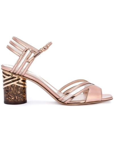 Сандалии на шнуровке Nicholas Kirkwood