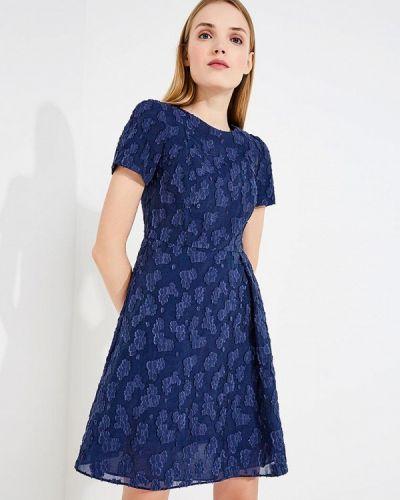 Синее платье весеннее Emporio Armani