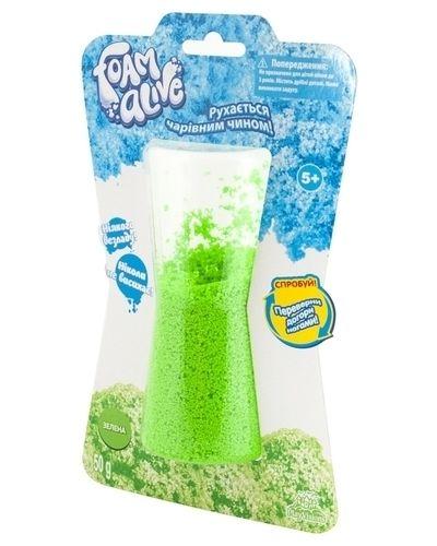 Зеленая мягкая пена для ванны Foam Alive