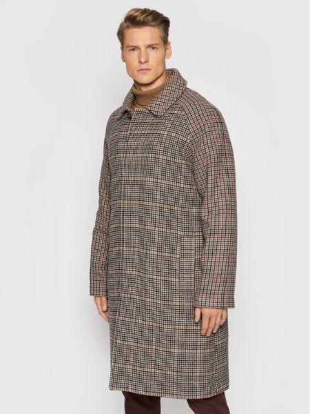Płaszcz wełniany Trussardi