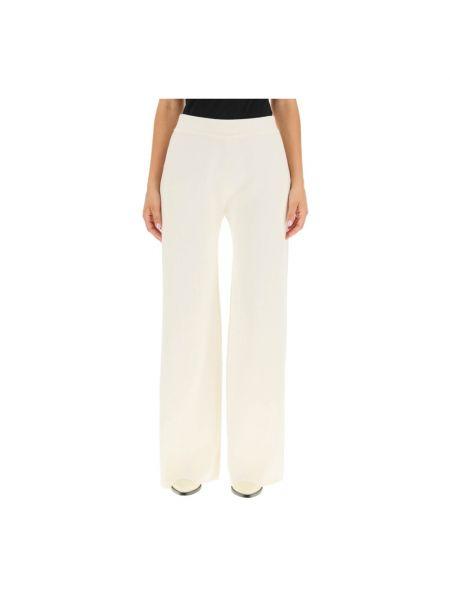 Białe spodnie bawełniane Magda Butrym