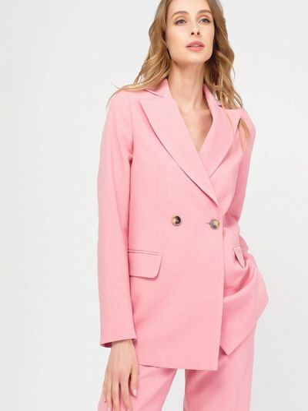 Розовый пиджак Y.o.u.