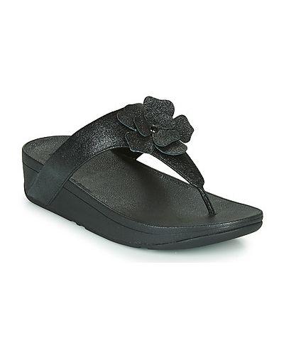 Czarne majtki zamszowe Fitflop