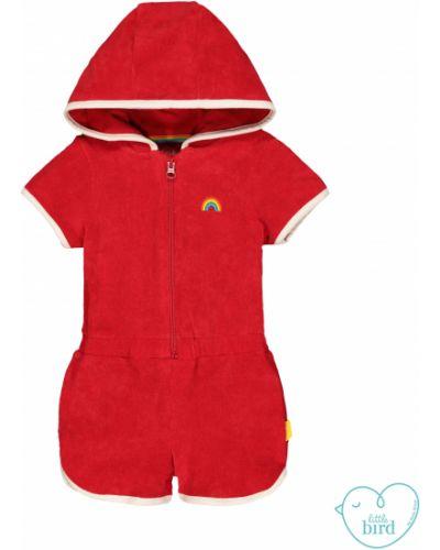 Комбинезон с капюшоном красный Mothercare