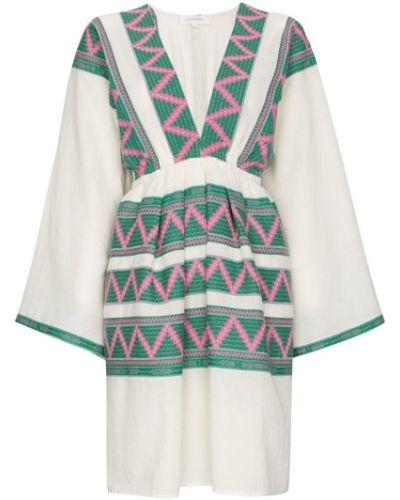 Платье с вышивкой Celia Dragouni