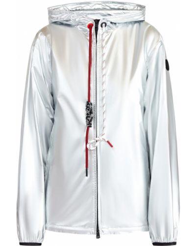 Куртка с капюшоном нейлоновая на молнии Moncler