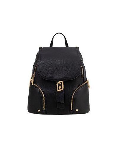 Черный рюкзак из искусственной кожи Liu Jo
