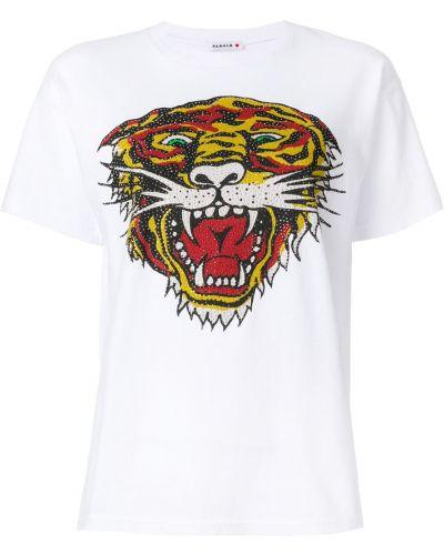 Футболка белая с тигром P.a.r.o.s.h.