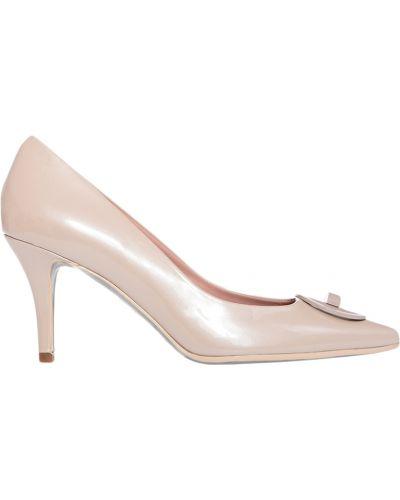 Кожаные туфли - бежевые Giorgio Fabiani