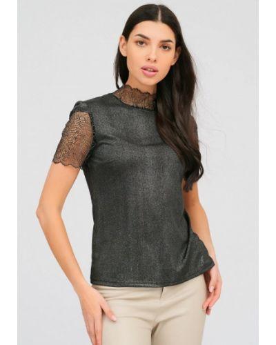 Серая блузка Lussotico