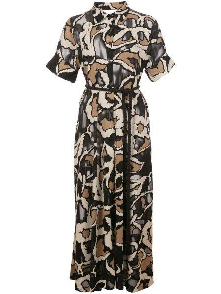 Платье мини миди на пуговицах Lisa Marie Fernandez