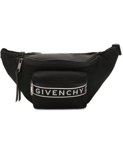 Поясная сумка кожаная деловая Givenchy
