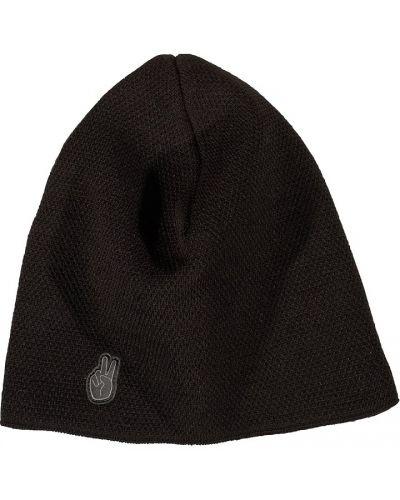 Флисовая шапка - черная Seger