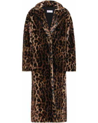 Пальто леопардовый с принтом Redvalentino