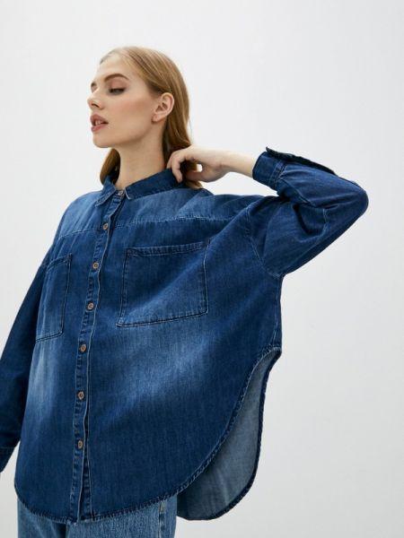 Джинсовая рубашка синяя One Teaspoon