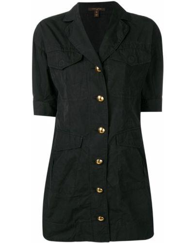 Приталенное классическое платье мини на пуговицах Louis Vuitton Pre-owned