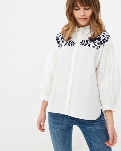 Белая рубашка с длинным рукавом Zarina