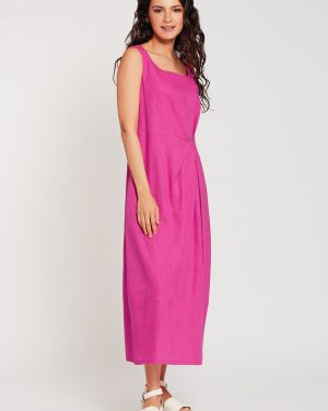 Летнее платье платье-сарафан с драпировкой D`imma Fashion Studio