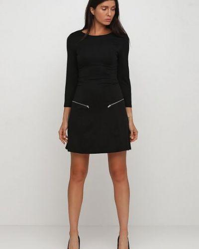 Черное платье Yumi