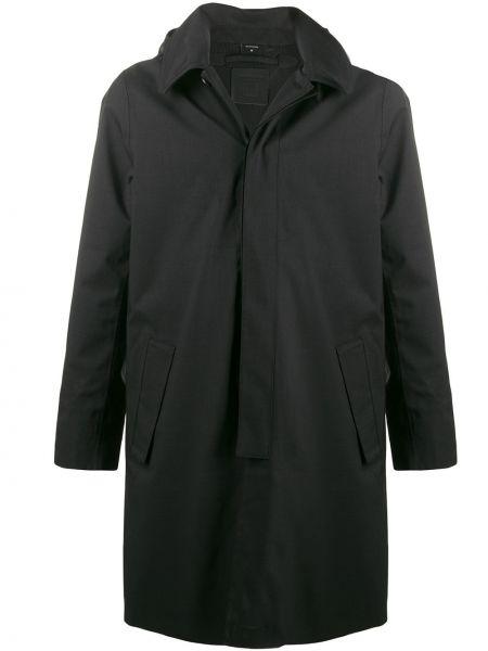 Długi płaszcz z kapturem kurtka grochowa Norwegian Rain