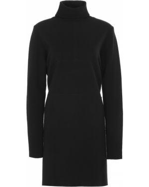 Шерстяное платье макси - черное Paul&shark