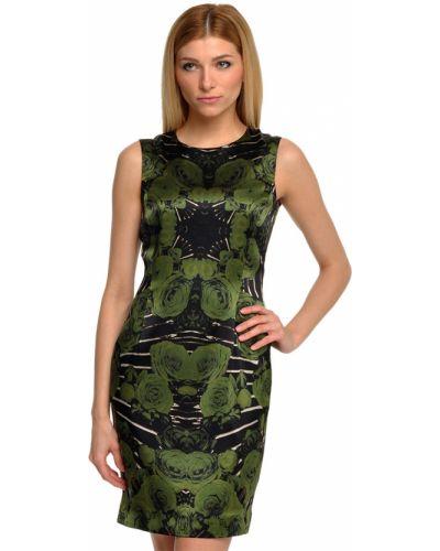 Шелковое платье - зеленое John Richmond