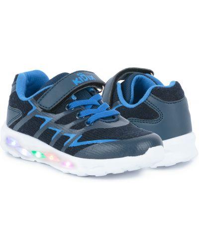 Синие текстильные кроссовки Kidix