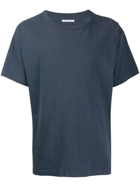 Koszula krótkie z krótkim rękawem prosto niebieski John Elliott