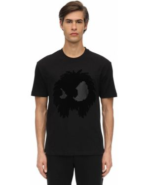 Koszula bawełniana - czarna Mcq Alexander Mcqueen